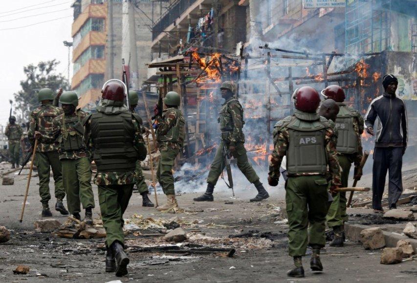 Protestas Kenijoje