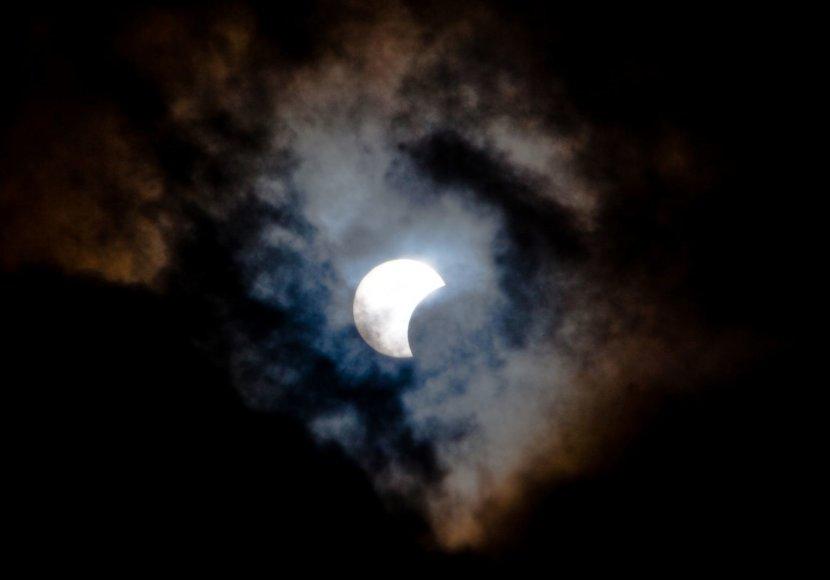 Afrikoje, Europoje ir JAV buvo matomas saulės užtemimas