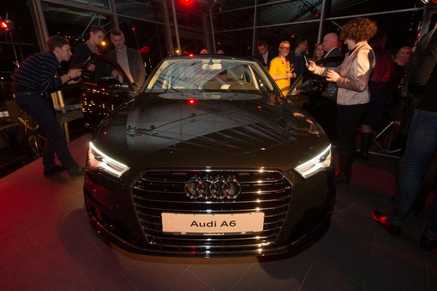 """Naujų """"Audi"""" modelių pristatymas """"Moller auto"""" salone"""