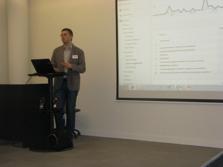 """Skaitmeninės rinkodaros mokymų centro """"Digital Academy"""" konferencija"""