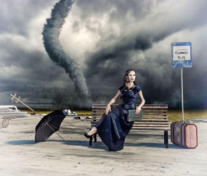 Kylant gamtos stichijos pavojui – nesėdėkite, veikite