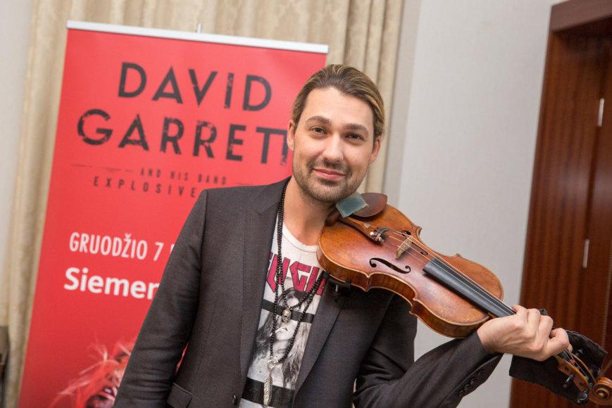 Davidas Garrettas Vilniuje