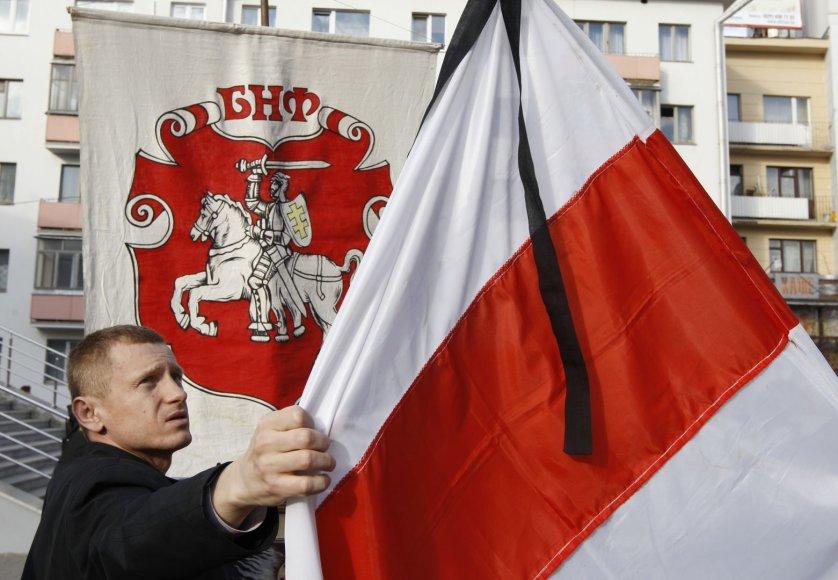 Baltarusijos opozicijos vėliava