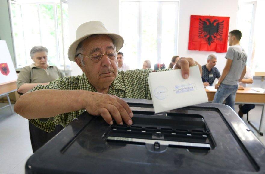 Rinkimai Albanijoje
