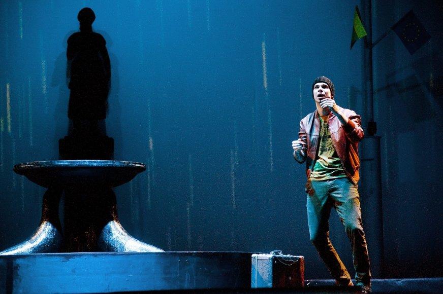 """Jeronimas Milius spektaklyje """"Adata"""" sukūrė vieną pagrindinių vaidmenų."""