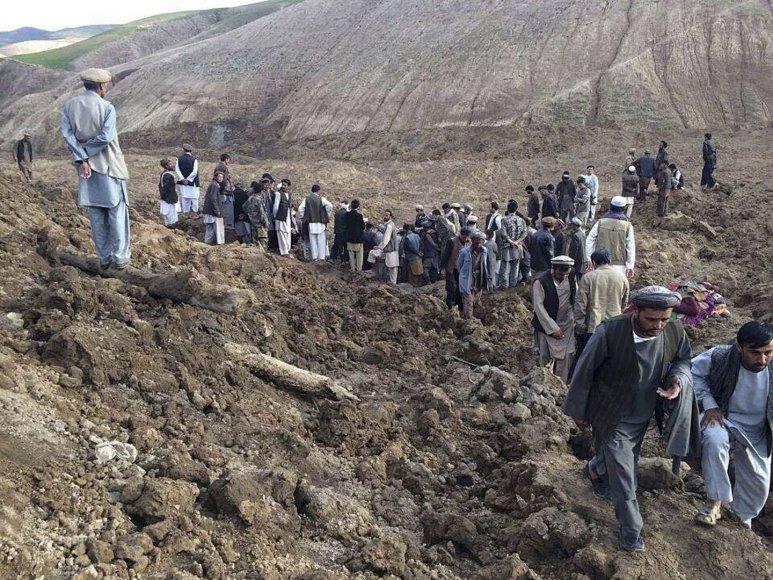 Nuošliauža Afganistane