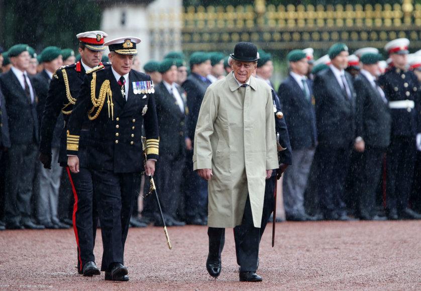 Princas Philipas oficialiai baigė eiti savo karališkąsias pareigas