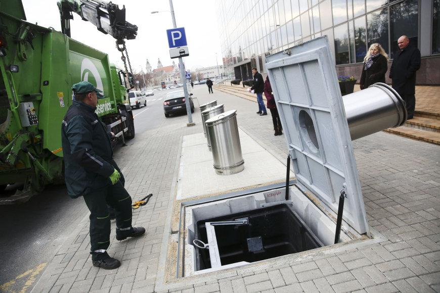 Naujoji atliekų surinkimo sistema
