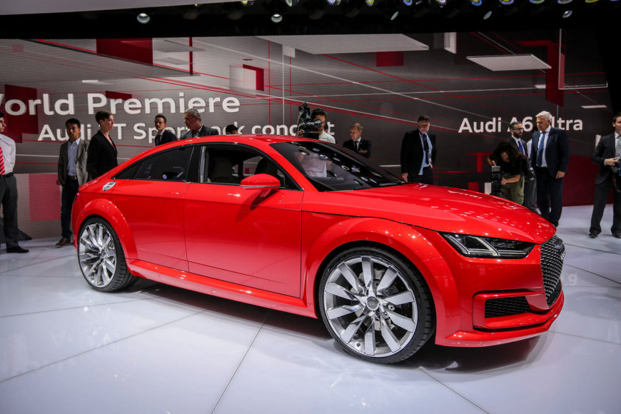 """Audi TT Sportback"" konceptas"