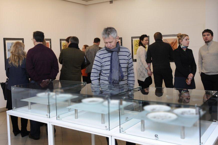 Klaipėdoje atverta Salvadoro Dali paroda