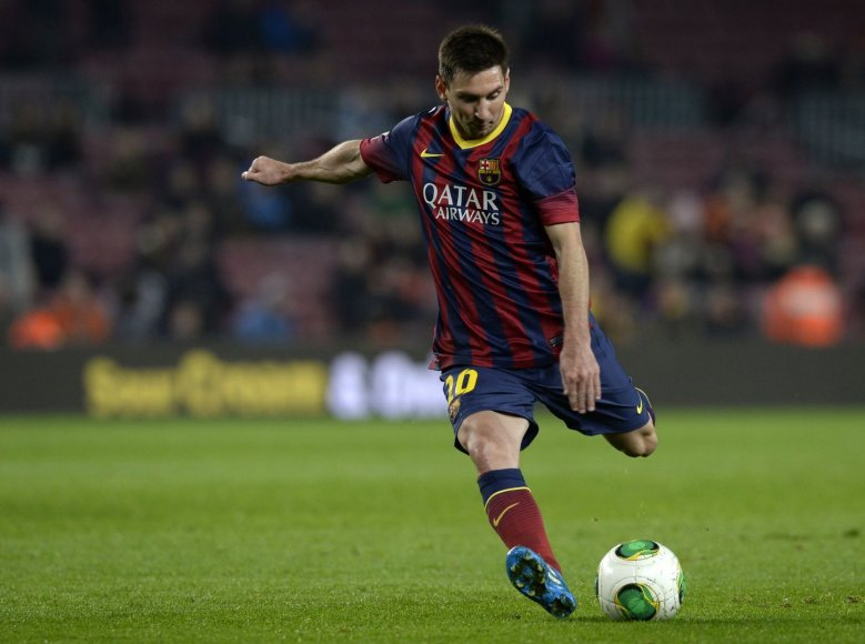 Lionelis Messi sugrįžo į aikštę