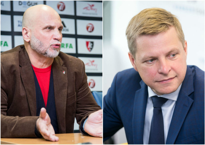 Gedvydas Vainauskas ir Remigijus Šimašius