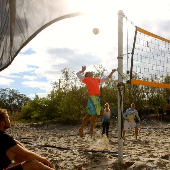"""""""Neringa FM Beachball CUP Žolinė"""" akimirka"""