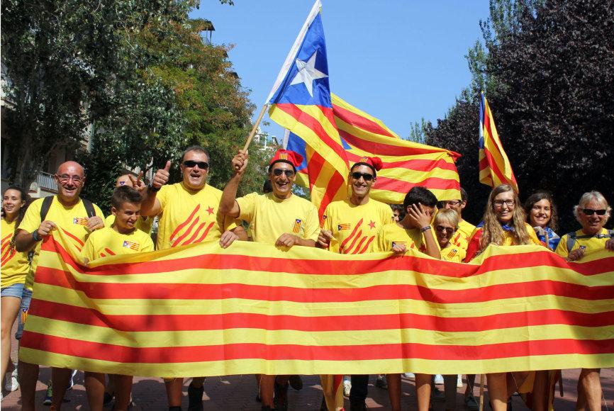 Katalonijos diena Barselonoje