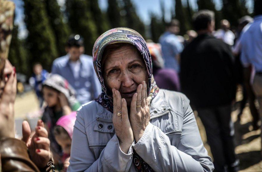 Turkė gedi žuvusių angliakasių