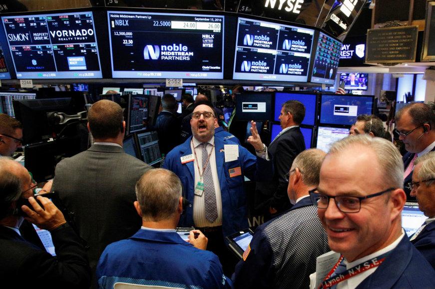 """""""Reuters""""/""""Scanpix"""" nuotr./Niujorko vertybinių popierių birža"""