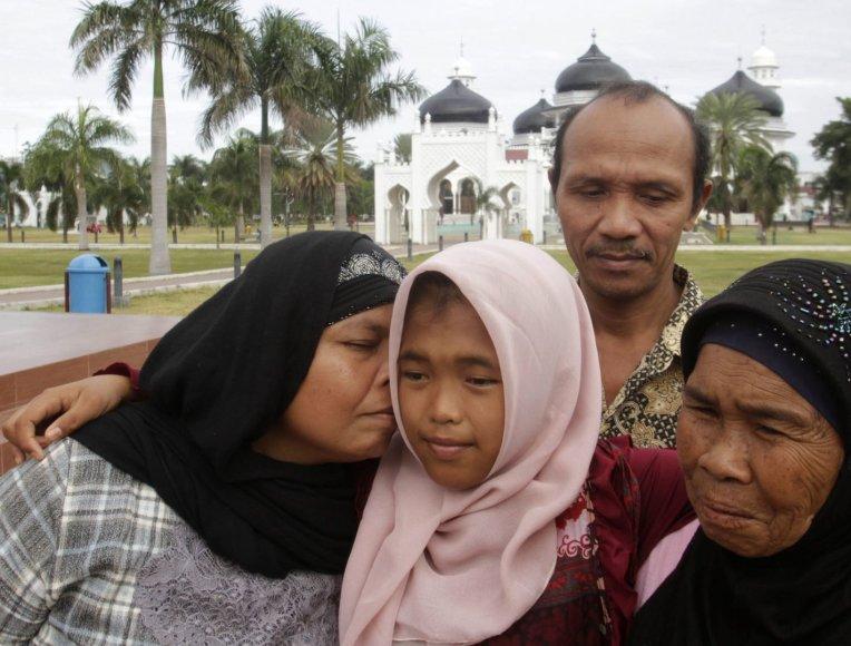 Raudhatul Jannah su šeima