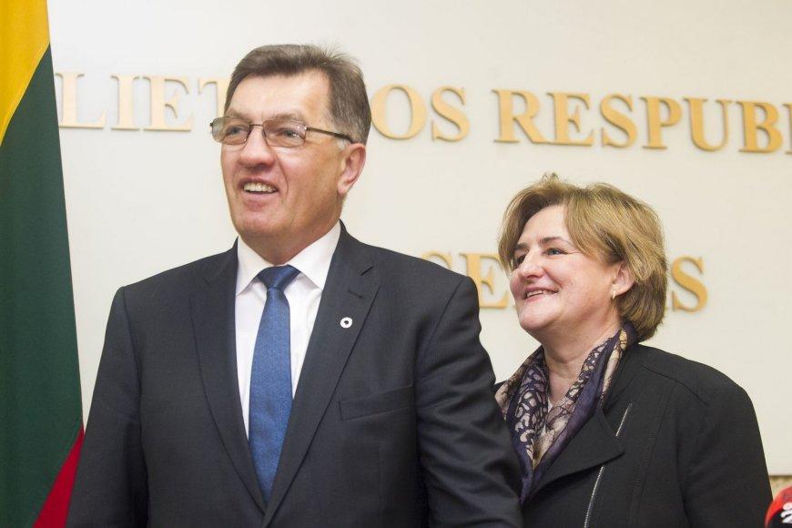 Algirdas Butkevičius ir Loreta Graužinienė