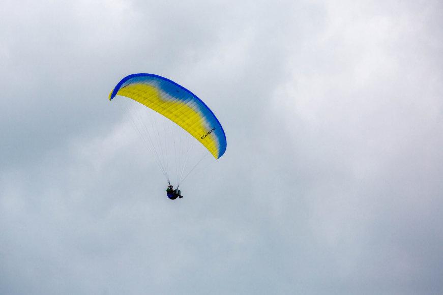 Parasparnių pilotai mokėsi kaip elgtis kritinėse situacijose
