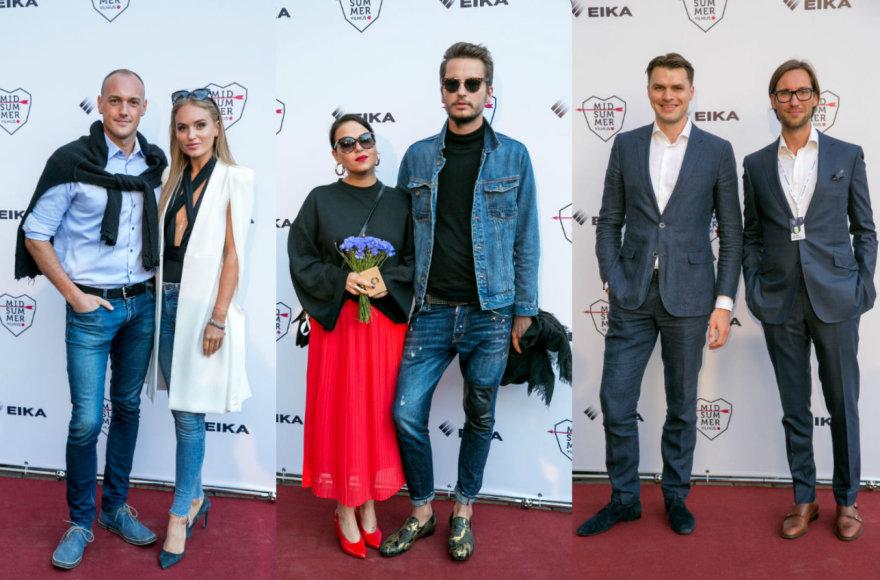 Gintarė Gurevičiūtė ir Dmitrijus Jaruševičius, Justė Arlauskaitė-Jazzu ir Lukas Gricius, Domas Dargis ir Valdas Petreikis