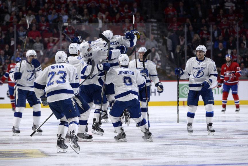 "NHL: ""Montreal Canadiens"" – ""Tampa Bay Lightning"""