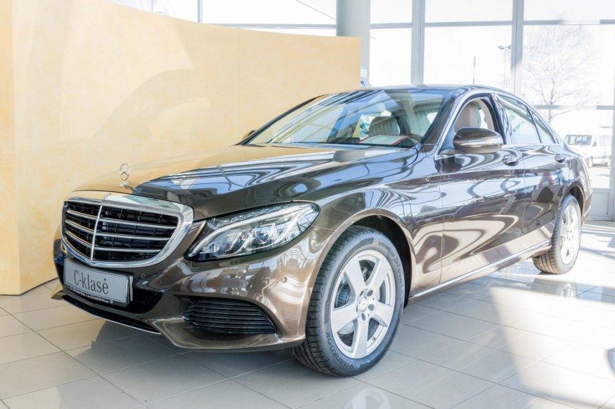"""C klasės """"Mercedes-Benz"""" – Vilniuje"""