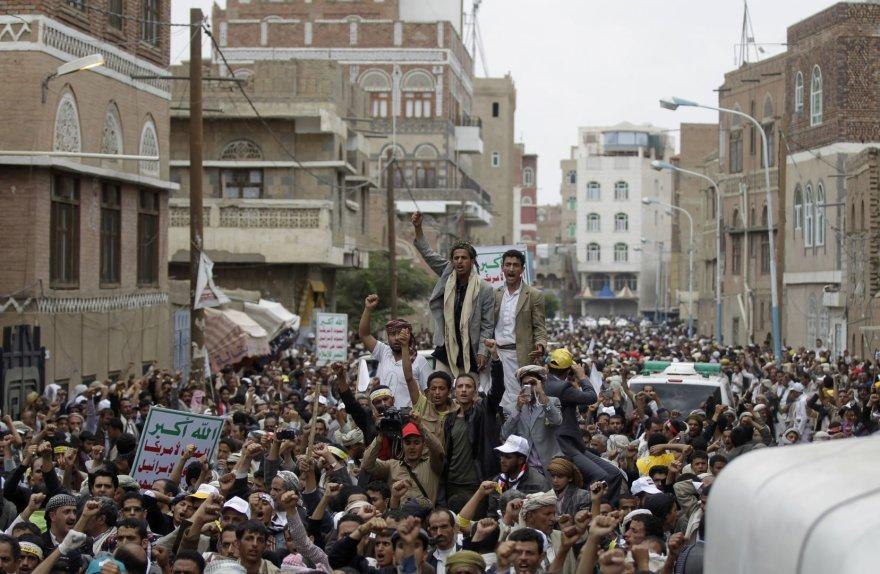 Šiitų protestas Sanoje