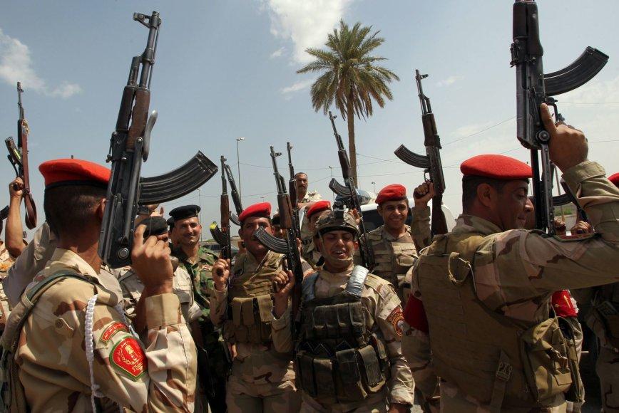 Irako armijos kariai