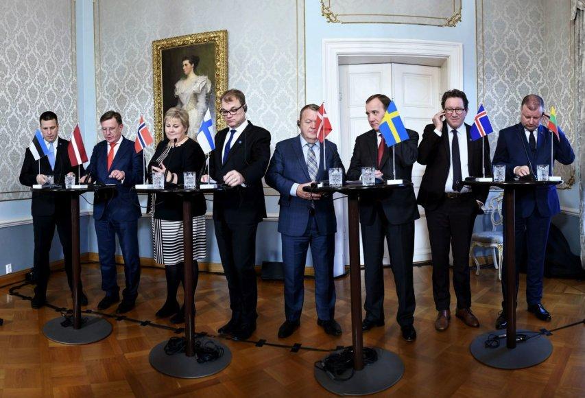 Aštuonių valstybių premjerai Helsinkyje