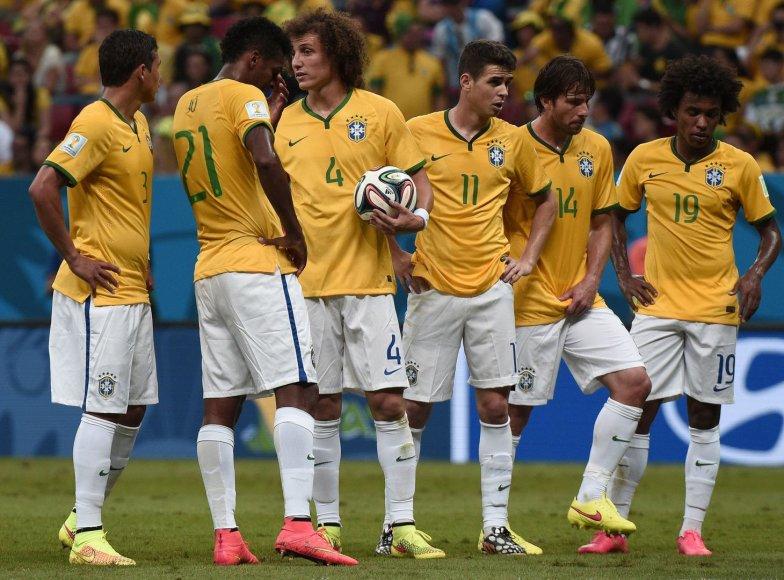 Brazilija – Nyderlandai