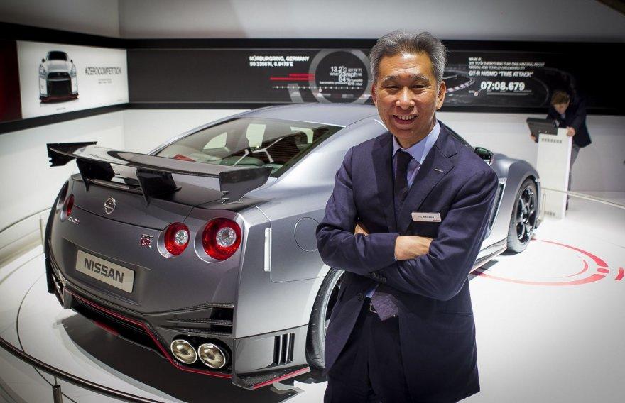 """Koji Nagano, """"Nissan"""" dizaino vadovas"""