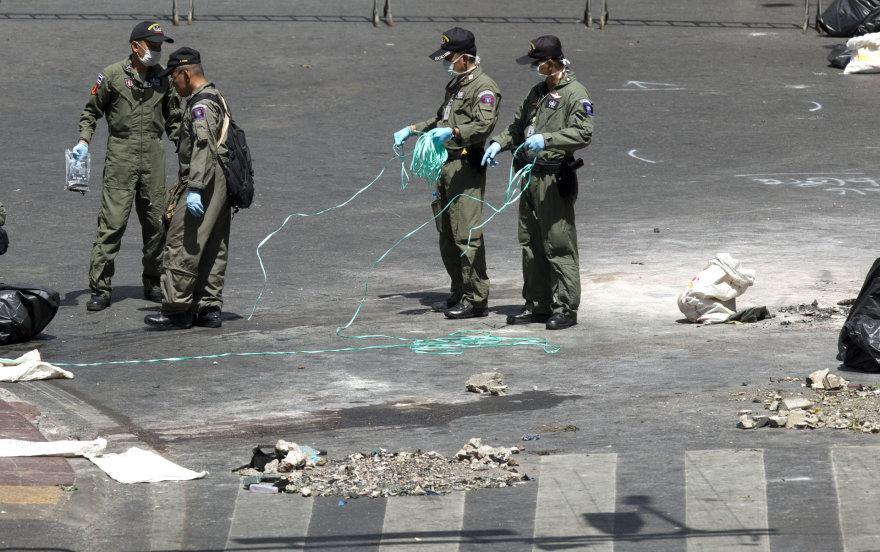 Tailando pareigūnai