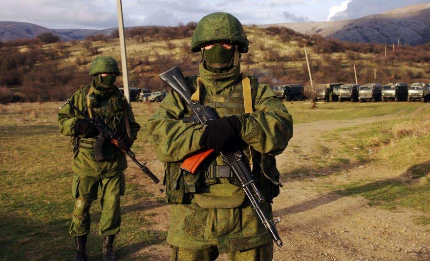 Rusijos kariai Kryme