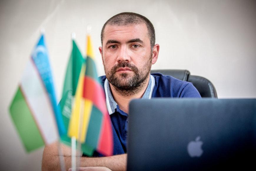 Verslininkas Farruh Azimov