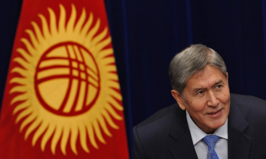Kirgizijos prezidentas Almazbekas Atambajevas
