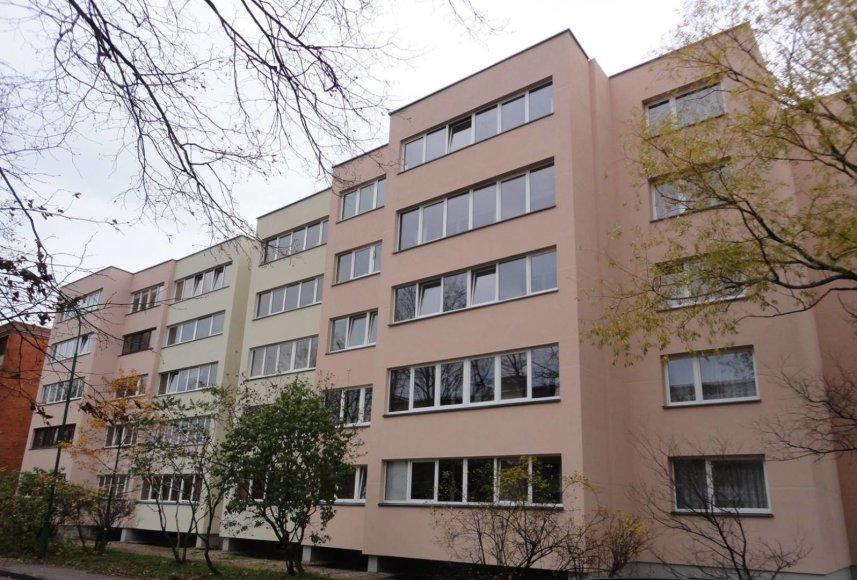 Renovuotas daugiabutis Klaipėdoje
