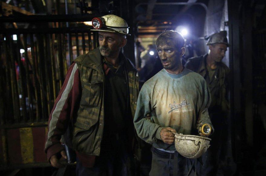 Bosnijos anglių šachtoje penktadienį įvyko nelaimingas atsitikimas
