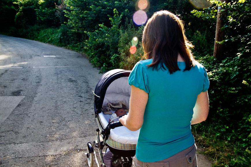 Aktyviai galima išlikti ir pagimdžius