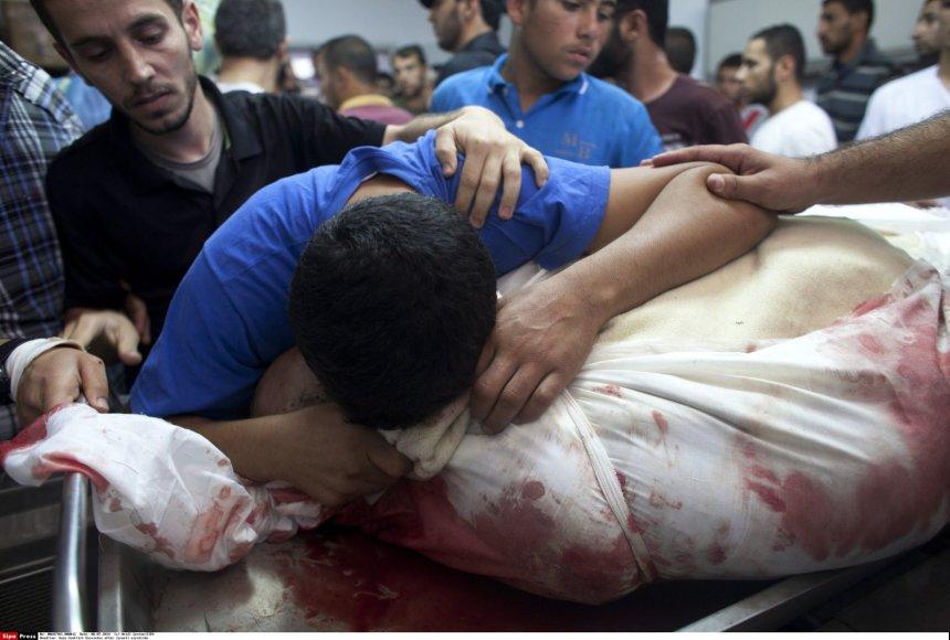 Palestiniečiai aprauda savo artimuosius