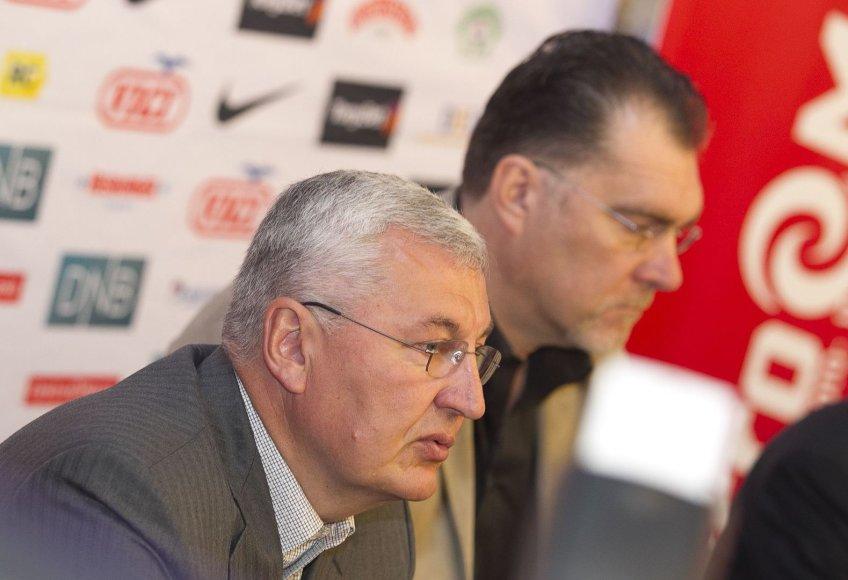 Jonas Kazlauskas ir Arvydas Sabonis