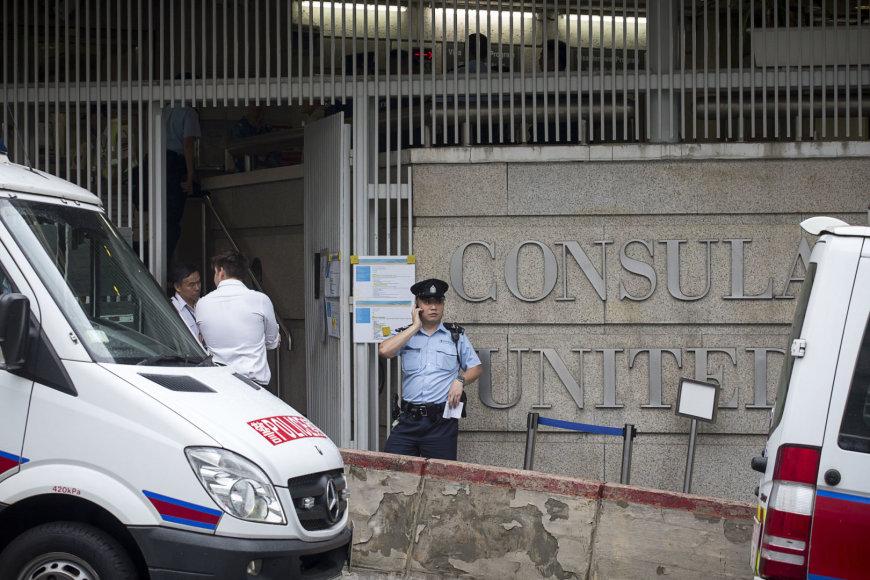 Incidentas JAV konsulate Honkonge