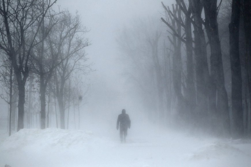 Sniegas Bukarešte