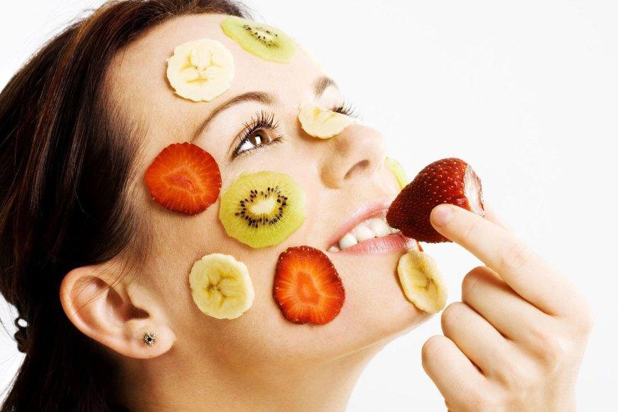 Maisto produktai, naudojami veido procedūroms