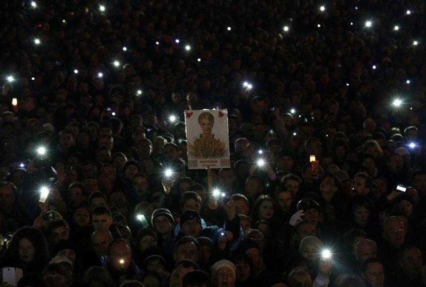 J.Tymošenko paleista į laisvę.