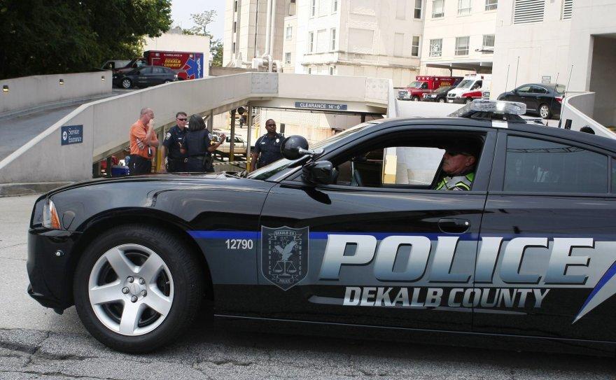 JAV policija