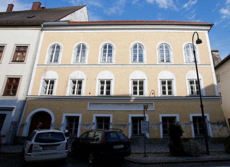 Namas, kuriame gimė Adolfas Hitleris