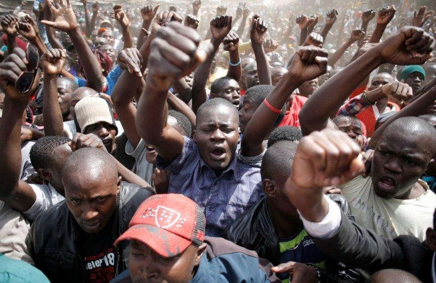Protestai Kenijoje