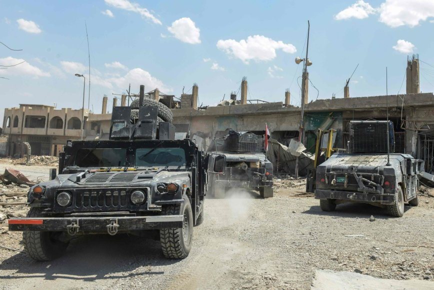 Irako pajėgos Mosule