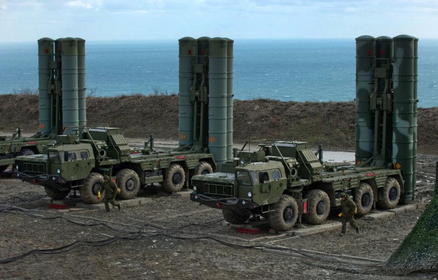 """Raketų kompleksai """"S-400"""""""
