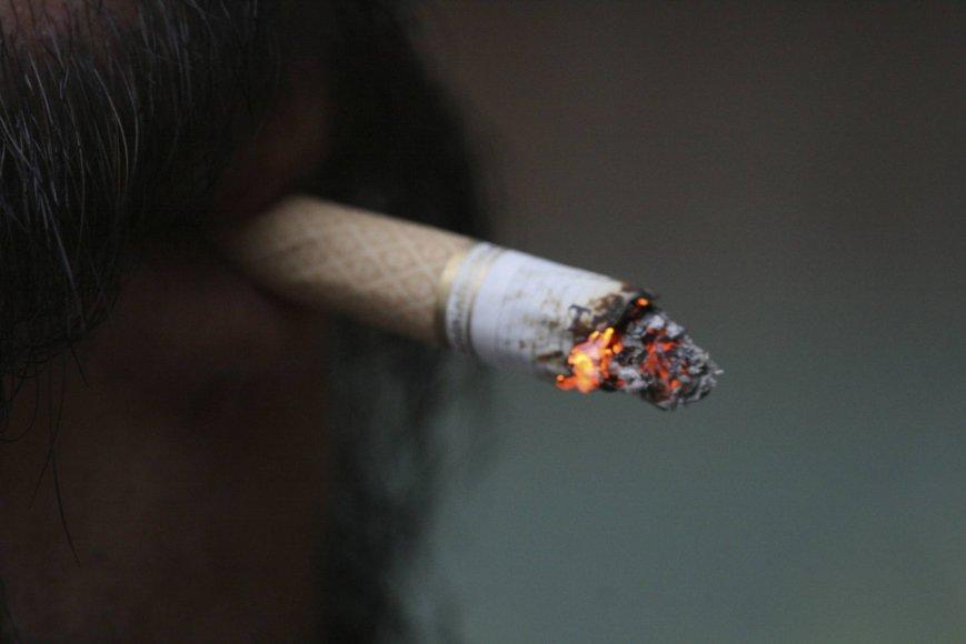 Kaip užgesinti paskutinę cigaretę?